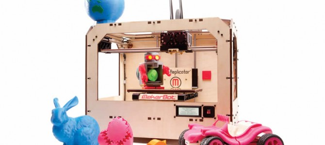 Imprimanta 3D, MakerBot Replicator, la vanzare!