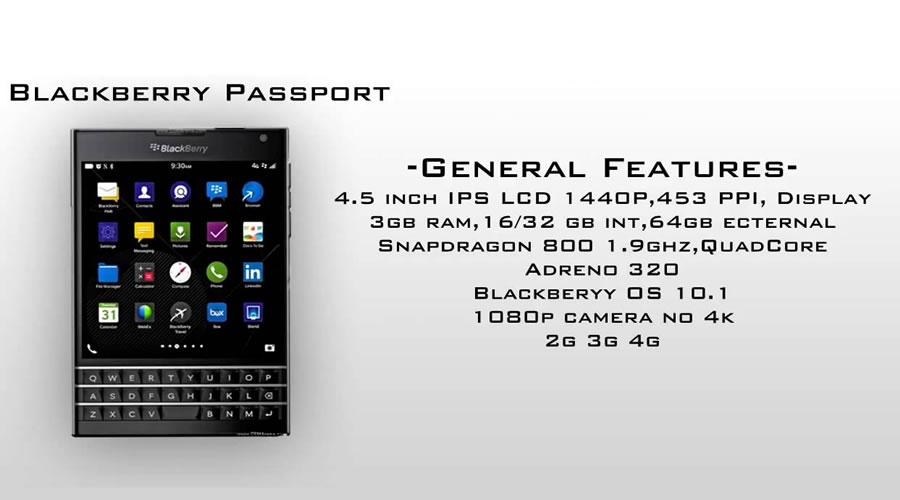 BlackBerry confirma noul smartphone Passport!