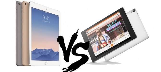 Apple iPad Air 2 vs. Google Nexus 9