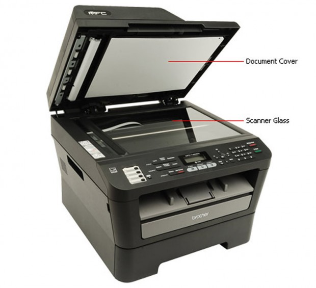 Scanner Brother MFC-7460DN