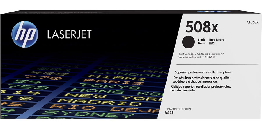 HP 508X Black Toner