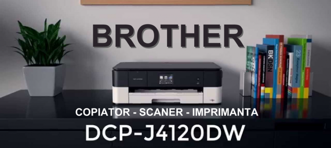 Imprimanta Brother DCP-J4120DW