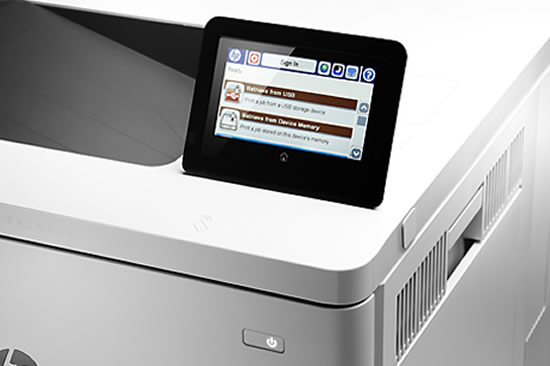Touch Screen - HP Color LaserJet 553X